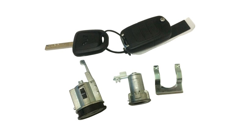 Full Vehicle Lock Core and Key Components