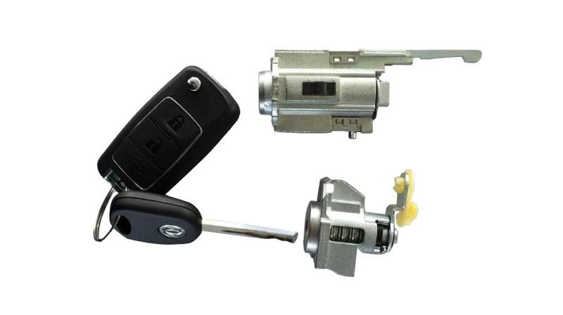 锁芯及钥匙组件