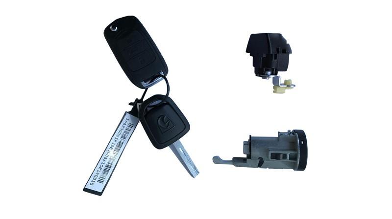 全车锁芯及钥匙组件