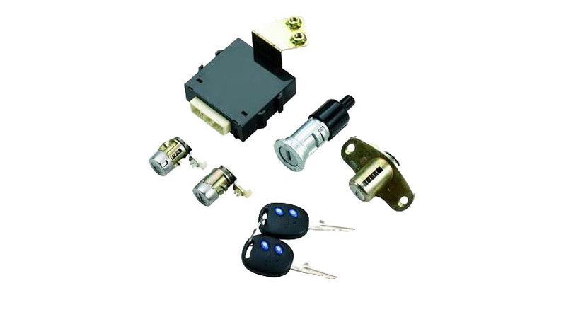 Remote Control Module and Key Assembly of Lock Core