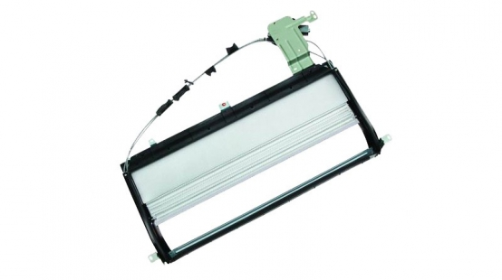 Electric rear skylight (left front/right front)