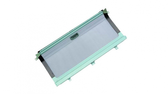 Manual rear skylight (left front/right front)